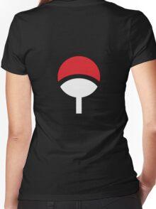 Uchiha Clan Women's Fitted V-Neck T-Shirt