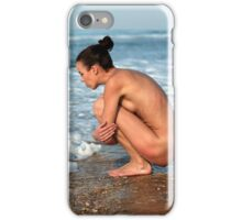 denisa at stone beach, no. 3 iPhone Case/Skin