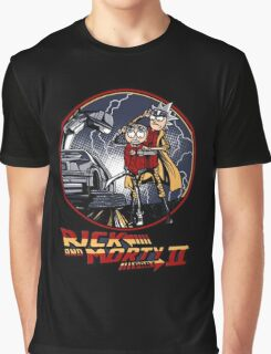 rick and morty back to the future  Graphic T-Shirt