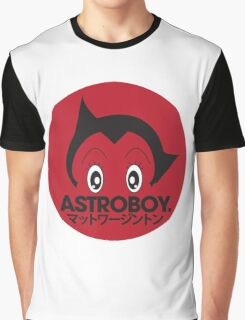 Japanese style astroboy T-shirt Graphic T-Shirt
