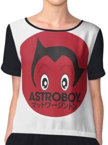 Japanese style astroboy T-shirt Chiffon Top