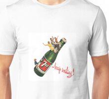 """Retro 7up bottle - """"Keep Smiling"""" Unisex T-Shirt"""