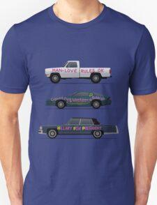 US Road Trip Cars Unisex T-Shirt