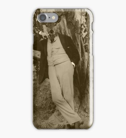 Justin Smokes a Pipe iPhone Case/Skin