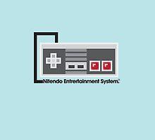 8-Bit NES Controller Poster by Matt Worthington