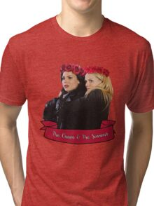 SwanQueen - The Queen and The Saviour Tri-blend T-Shirt