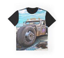 Beach Blanket Rat Rod Graphic T-Shirt