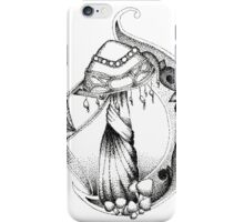 Fungi Art Nouveau iPhone Case/Skin