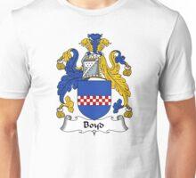 Boyd Coat of Arms / Boyd Family Crest Unisex T-Shirt