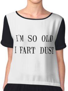 Fart Dust Women's Chiffon Top
