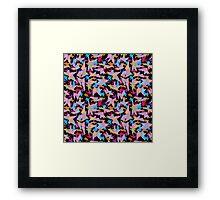 Fun Geometric Framed Print