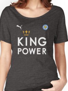 The Foxes - Leicester City Football Club - King Power Women's Relaxed Fit T-Shirt