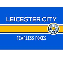 Leicester City Football Club - The Foxes  Photographic Print
