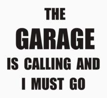 Garage Calling Baby Tee