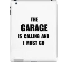 Garage Calling iPad Case/Skin