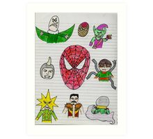 Spidey Jr. Art Print