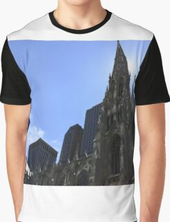 Church in New-York City Graphic T-Shirt
