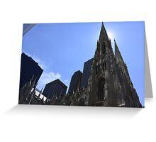 Church in New-York City Greeting Card