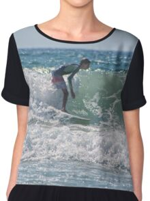 Surfing USA Chiffon Top