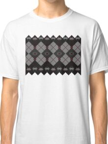 Knitted space invaders ugly sweater Classic T-Shirt