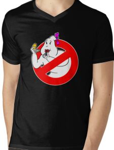 Ghostbusters Girl Mens V-Neck T-Shirt
