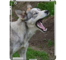 Waking Up Yawning iPad Case/Skin