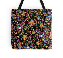 Mexican black pattern Tote Bag