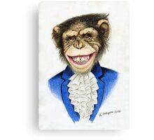 chimp the pimp Canvas Print