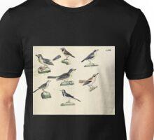 Naturgeschichte in Bildern mit erläuterndem Text E Strack 1820 Lief 2 Birds 063 Unisex T-Shirt