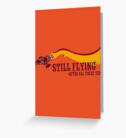 """Still Flying"" - Joss Whedon's Serenity - Dark Greeting Card"