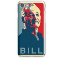 Bill Murray, Obama Hope Poster iPhone Case/Skin