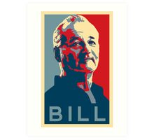 Bill Murray, Obama Hope Poster Art Print