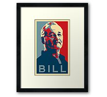 Bill Murray, Obama Hope Poster Framed Print