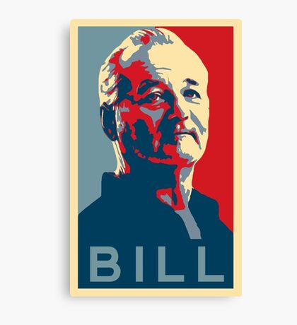 Bill Murray, Obama Hope Poster Canvas Print