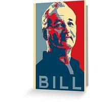 Bill Murray, Obama Hope Poster Greeting Card