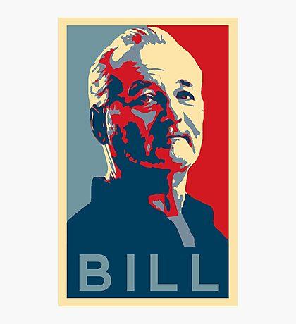 Bill Murray, Obama Hope Poster Photographic Print