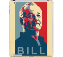 Bill Murray, Obama Hope Poster iPad Case/Skin