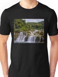 The waterfalls of Krka Unisex T-Shirt