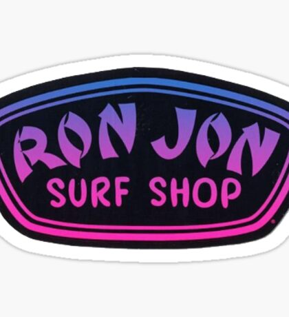 Ron Jon Surf Shop Logo Sticker