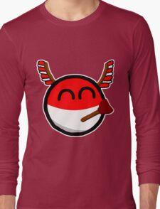 Polandball Long Sleeve T-Shirt