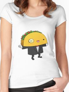 sir taco Women's Fitted Scoop T-Shirt