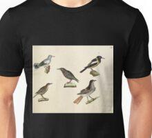Naturgeschichte in Bildern mit erläuterndem Text E Strack 1820 Lief 2 Birds 055 Unisex T-Shirt