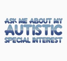 Autistic Special Interest - Blue Kids Tee