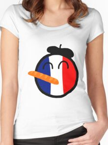 Franceball Women's Fitted Scoop T-Shirt