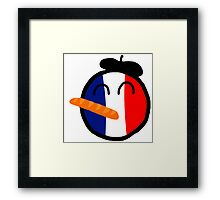Franceball Framed Print