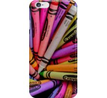 Crayon Pattern iPhone Case/Skin
