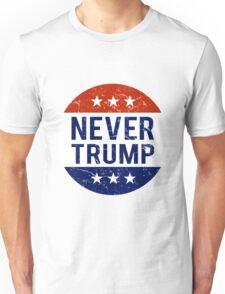 Never Trump #NeverTrump T-Shirt Unisex T-Shirt