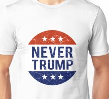 Never Trump #NeverTrump T-Shirt Unisex T-Shirt