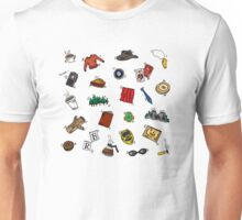 Twin Peaks Doodles Unisex T-Shirt