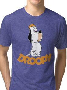 Droopy Cartoon Tri-blend T-Shirt